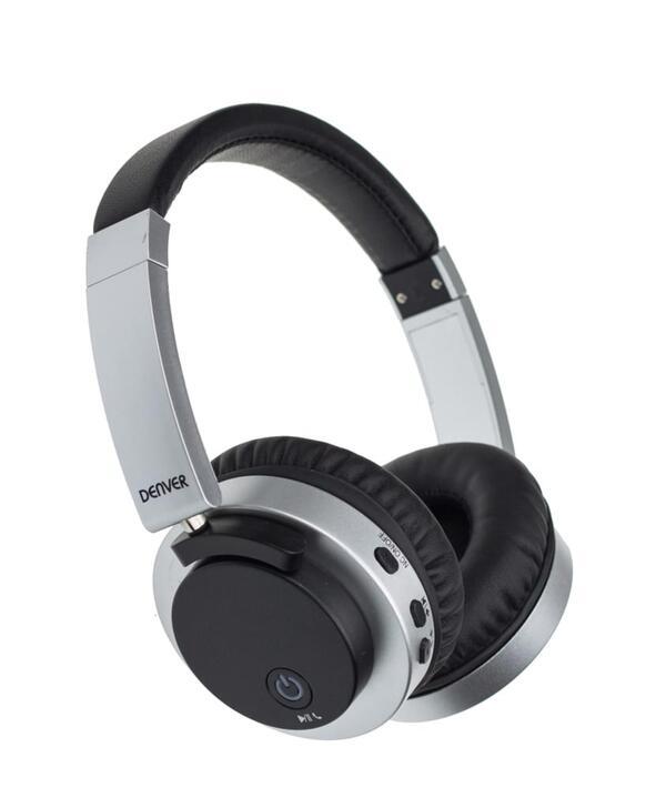 Denver Bluetooth Over-Ear Kopfhörer BTN-206 mit Noice Reduction