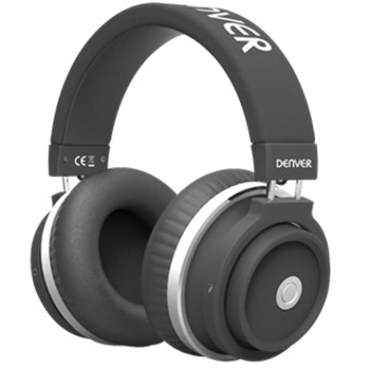Bild 1 von Kopfhörer mit Bluetooth, Headset Funktion und sattem Sound Denver BTH-250 black