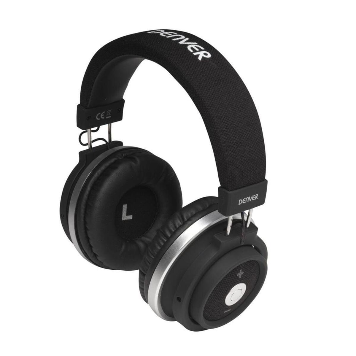 Bild 2 von Kopfhörer mit Bluetooth, Headset Funktion und sattem Sound Denver BTH-250 black