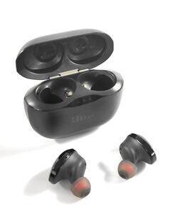 JBL T120 TWS Bluetooth In-Ear Kopfhörer Kabellos Akku Ohrhörer Freisprechen , Farbe:Schwarz