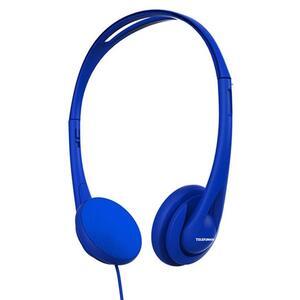 TELEFUNKEN Stereo-Kopfhörer KH5000 | Farbe Blau | Bügel | kabelgebunden 1,2 m