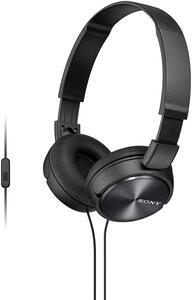 Sony MDR ZX310AP - ZX Series - Kopfhörer mit Mikrofon - volle Größe - Schwarz