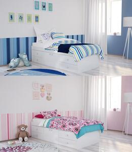 Polini Kids Jugendbett Stauraumbett Simple 3100 weiß,1411.9