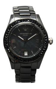 Emporio Armani Herren & Damen Armband Uhr CERAMICA  AR1423