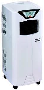 Einhell Lokales Klimagerät MK 2600 E, Leistungsaufnahme 996 Watt, Weiß, Kühlleistung 2600 Watt (8900 BTU/h), für Raumgröße bis max. 80 m³, 2360371