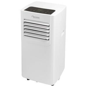 Bestron Mobile Klimaanlage, Klimagerät für Räume bis 24m², Kühlleistung 1,4 kW mit umweltfreundlichem Kühlmittel, 5.000BTU/h, Farbe: weiß