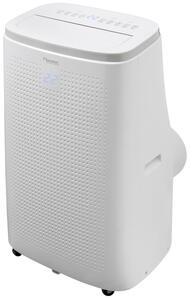 Bestron Mobile Klimaanlage für Räume bis 55m², Klimagerät mit App + Sprachsteuerung via WiFi, Touch-Bedienfeld und Fernbedienung, Kühlleistung 4,1 kW mit umweltfreundlichen Kühlmittel,14.000 BT