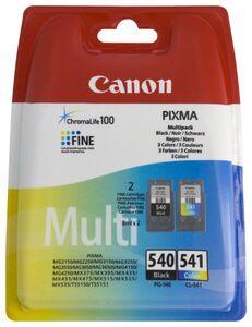 HEMA 2er-Pack Druckerpatronen Canon PG-540/CL-541, Schwarz/farbig