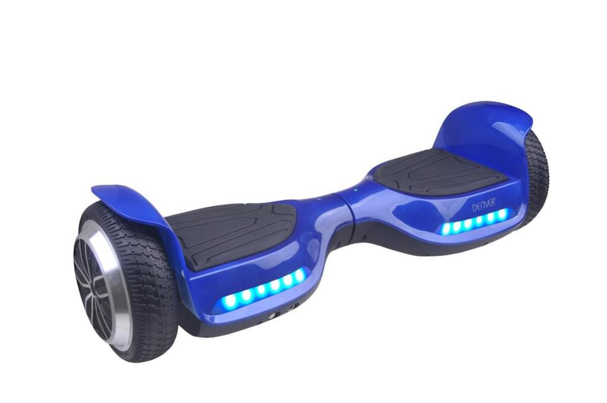 Bild 1 von Denver DBO-6520 Hoverboard 6,5 Zoll,  Farbe Blau, 115101100220