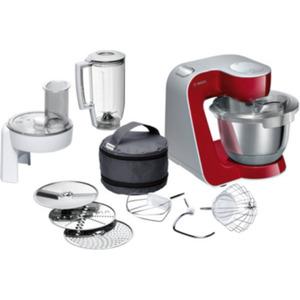 Bosch MUM58720 Universal-Küchenmaschine CreationLine Deep Red