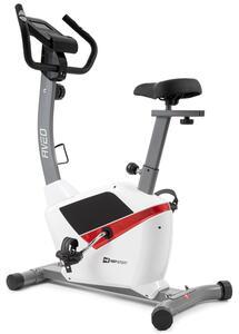 Hop-Sport Fitnessfahrrad HS-2090H Heimtrainer Aveo Ergometer für Zuhause bis 120kg weiß