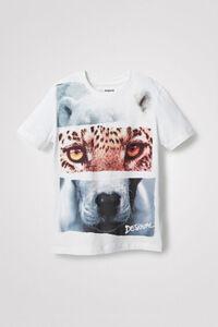 T-Shirt Foto-Print Animal