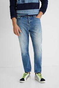 Gerade geschnittene Jeanshose