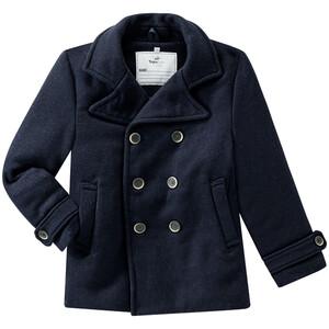 Jungen Mantel mit Woll-Anteil