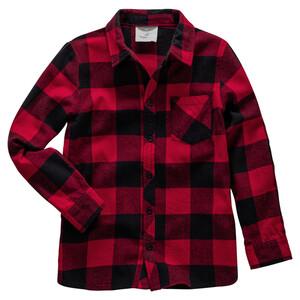 Jungen Hemd aus weicher Flanell-Qualität