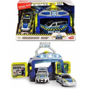 DICKIE - Polizeistation - mit Polizeiautos