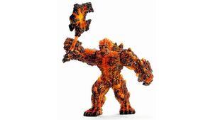 Schleich 42447 - Eldrador Creatures - Lava Golem mit Waffe