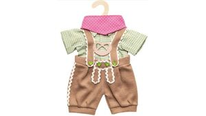 Heless - Puppen-Trachtenhose mit Hemd, 3-teilig, Gr. 35-45 cm