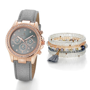 Pacific Prime Damenuhr mit Armband, Gloria
