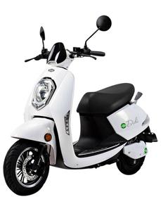 Elektroroller »Roma«, max. 45 km/h, Reichweite: 50 km, weiß/schwarz