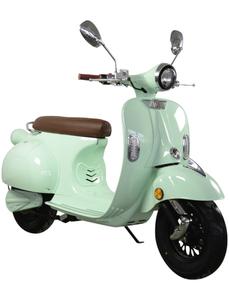 Elektroroller »Sizilia«, max. 45 km/h, Reichweite: 45 km, mintgrün/braun