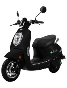 Elektroroller »Roma«, max. 45 km/h, Reichweite: 50 km, schwarz