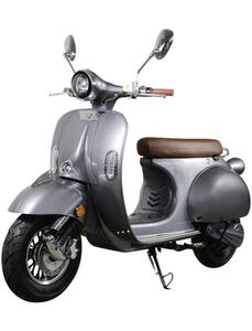 E-Scooter »Sizilia«, max. 45 km/h, Reichweite: 90 km, anthrazit/braun