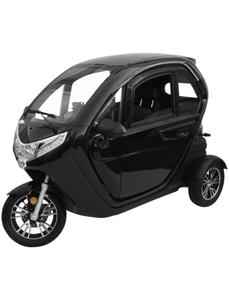 Elektroroller »eLizzy Comfort«, max. 45 km/h, Reichweite: 60 km, schwarz