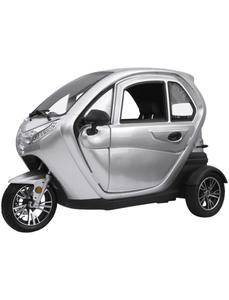 Elektroroller »eLizzy Comfort«, max. 25 km/h, Reichweite: 60 km, silberfarben