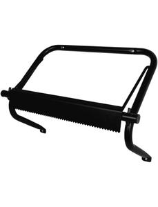 Abroller für Putztuchrollen, Wandhalterung, Schwarz, Metall, Schwarz, Metall, 220 x 500 x 370 mm