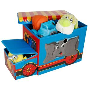 Aufbewahrungsbox Lokomotive