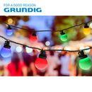 Bild 1 von Grundig Deko-Lichterkette Bälle 13,9m 100 LEDs Bunt