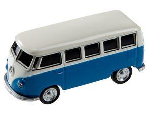 GENIE USB-Stick 32GB » VW Bus«,  blau/weiß