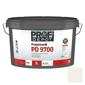Profi Depot PD Wandfarbe Projektweiß PD 9700