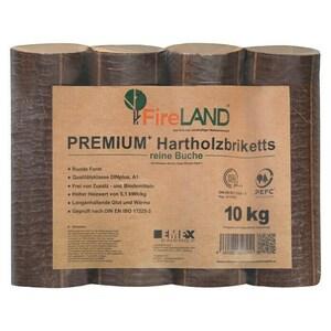 Hartholzbriketts