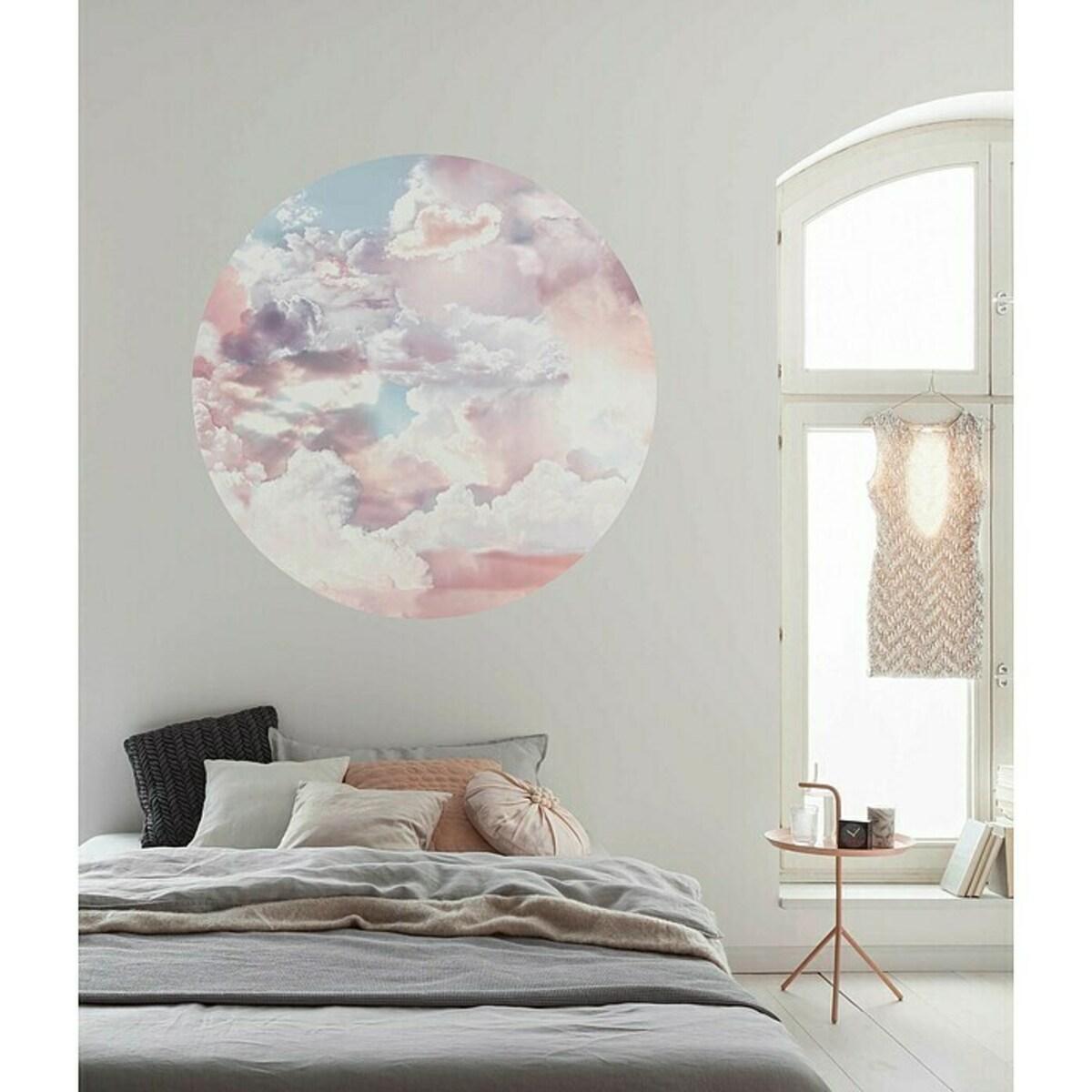 Bild 2 von Komar Dots Fototapete rund Candy Sky