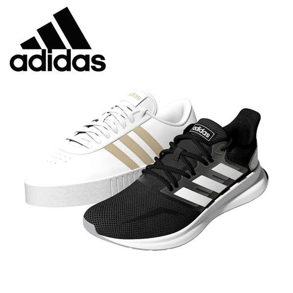 Damen-Sneaker Obermaterial aus Textil, ausgestattet mit einer EVA-Zwischensohle, angenehmes und leichtes Tragegefühl Größen: 4 - 7,5, je Herren-Adidas-Shower-Adilette weiches und bequemes Fußbet