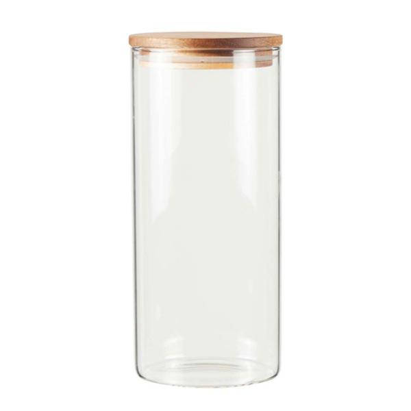 Casalino Aufbewahrungsglas mit Akaziendeckel 1300 ml