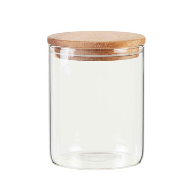 Casalino Aufbewahrungsglas mit Akaziendeckel 700 ml