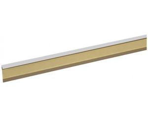Einklebeleiste weiß ca. 50 mm hoch