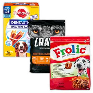 Pedigree / Crave / Frolic Trockenfutter