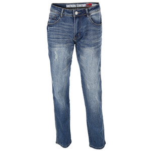 Herren Jeans mit leichten destroyed Effekten