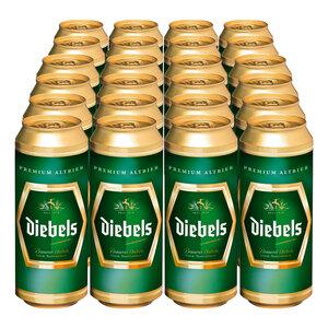 Diebels Premium Altbier 4,9 % vol 0,5 Liter, 24er Pack