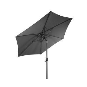 LEX Sonnenschirm mit Knick-Funktion, Steingrau