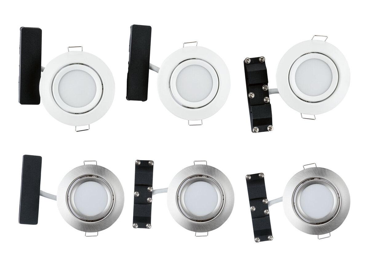 Bild 1 von LIVARNO HOME® 3 LED-Einbauleuchten