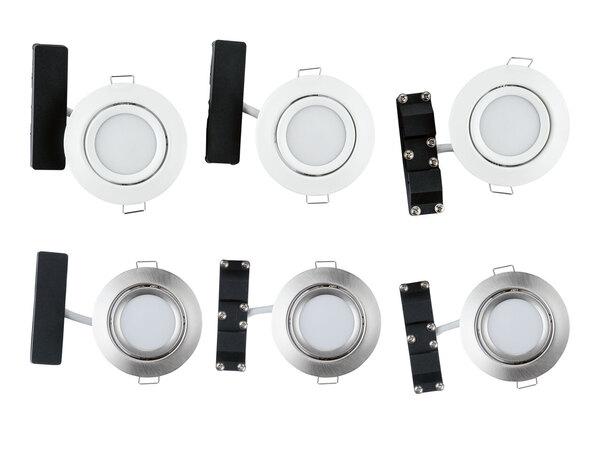 LIVARNO HOME® 3 LED-Einbauleuchten