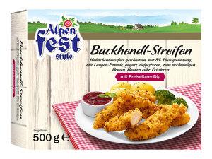 Alpenfest Backhendl-Streifen