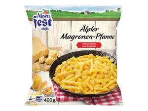 Alpenfest Älpler Magronen-Pfanne
