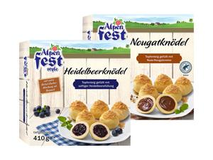 Alpenfest Topfenknödel