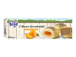 Alpenfest Riesen-Germknödel